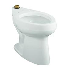 Kohler Highline 1 28 Gpf Ada Floor Mount Toilet Top Spud